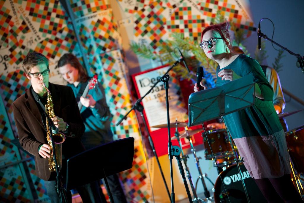 Jana Kütt Quintet / 2.11.2014 @Ahhaa Keskus / foto: Kalev Ints