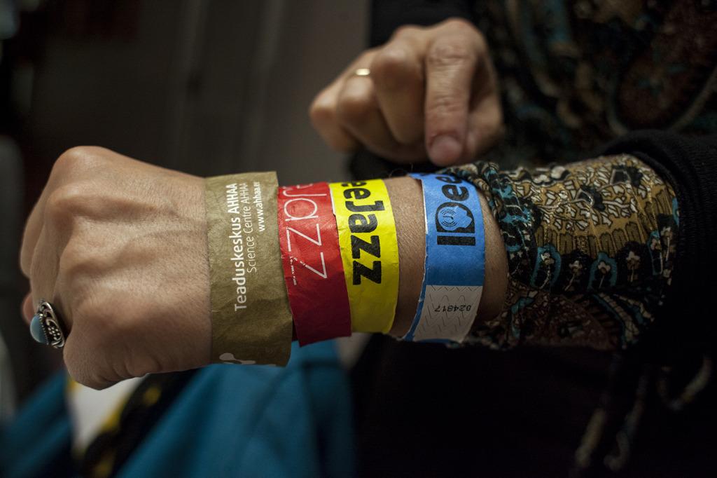 IDeeJazz 2014 külastaja / foto: Krista Palm